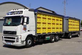 autotreno per trasporto zucchero